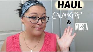 HAUL : mes achats sur 2 sites américains (Colourpop et Shop Miss A) 🛍