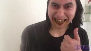 Spanky Does The CINNAMON Challenge