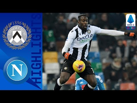 Udinese 1-1 Napoli | Lasagna's goal is cancelled out by Zieliński's effort! | Serie A