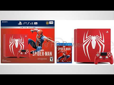 marvel's-spider-man-bundle---playstation-4-pro-1tb-limited-edition-console