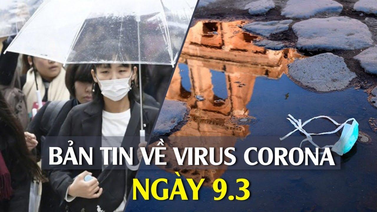 Thêm ca dương tính với Covid-19 trên chuyến bay VN0054 I Bản tin về virus corona ngày 9.3.2020
