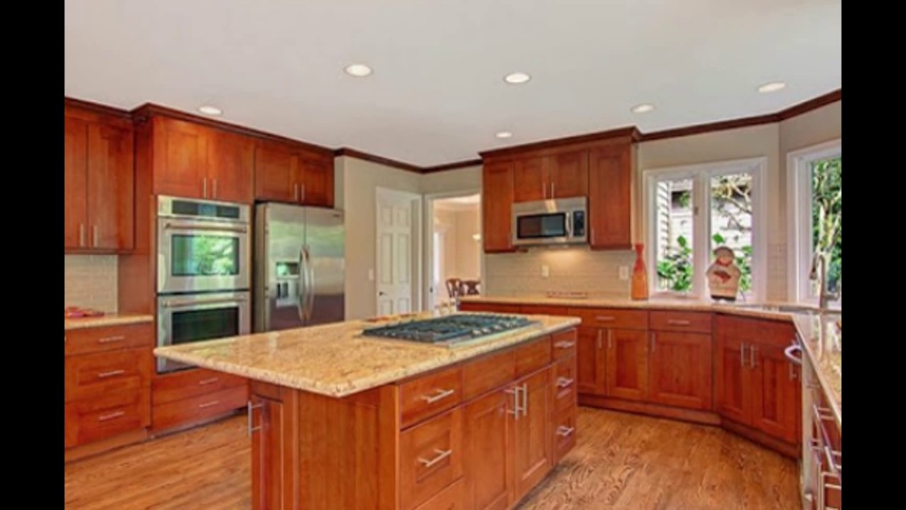 Ashtonizing Cherry Wood Kitchen Cabinets Youtube
