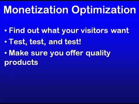 24 - SEO Education 101 Monetization Optimization