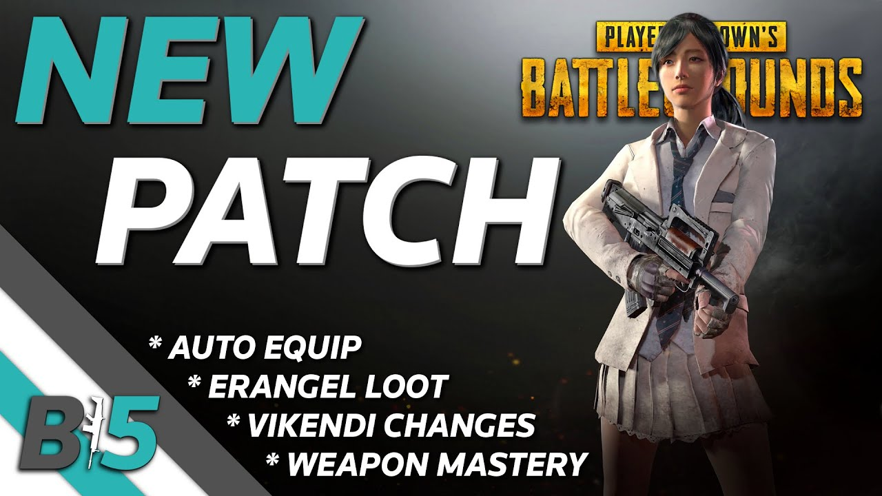 PUBG NEW UPDATE | Weapon Mastery, Erangel and Vikendi Changes, Auto Equip, and More (Xbox One/PS4)