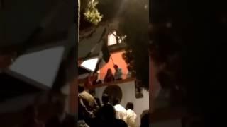 Así fue el grito del Presidente municipal de Bustamante Tamaulipas, Gildardo Chaírez Pecina del PRI.