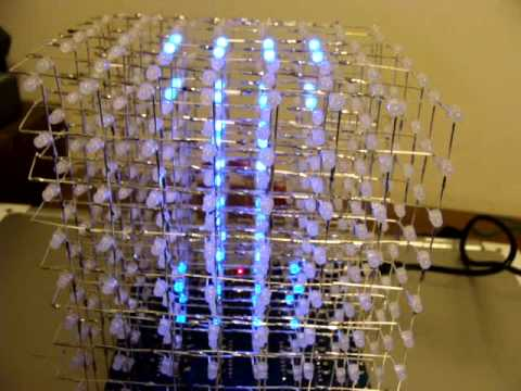8x8x8 led cube ebay instructions