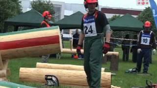 Pierwsze zawody drwali studentów leśnictwa 14.05.2010