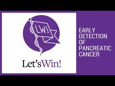 Early Detection of Pancreatic Cancer