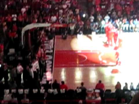 The 2010 Chicago Bulls Starting Lineup Player Introductions