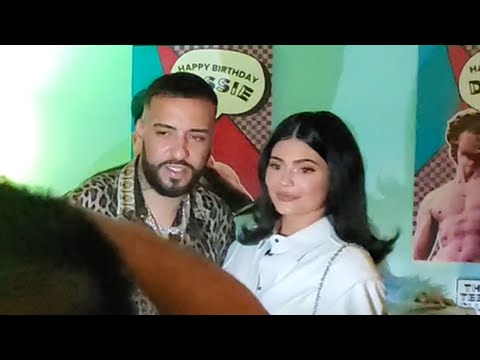Kylie Jenner Dances To Tyga's Music & Parties With French Montana