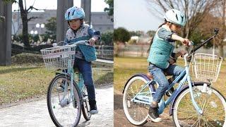かんなあきら自転車の練習♪