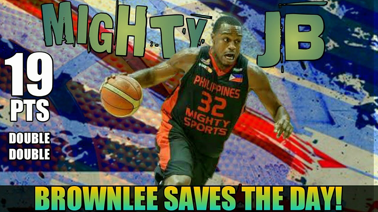Justin Brownlee Sinagip ang PH Mighty Sports sa Lebanon Champion | Clutch JB Full Game Highlights
