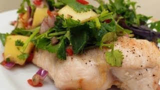 Grilled Chicken With Mango Salsa Cook-along Video