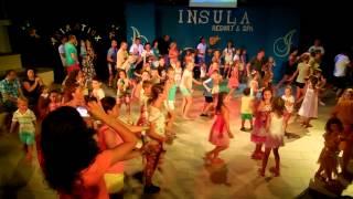 Dancing. Insula Resort & Spa. Alanya. Turkey 13.08.2014