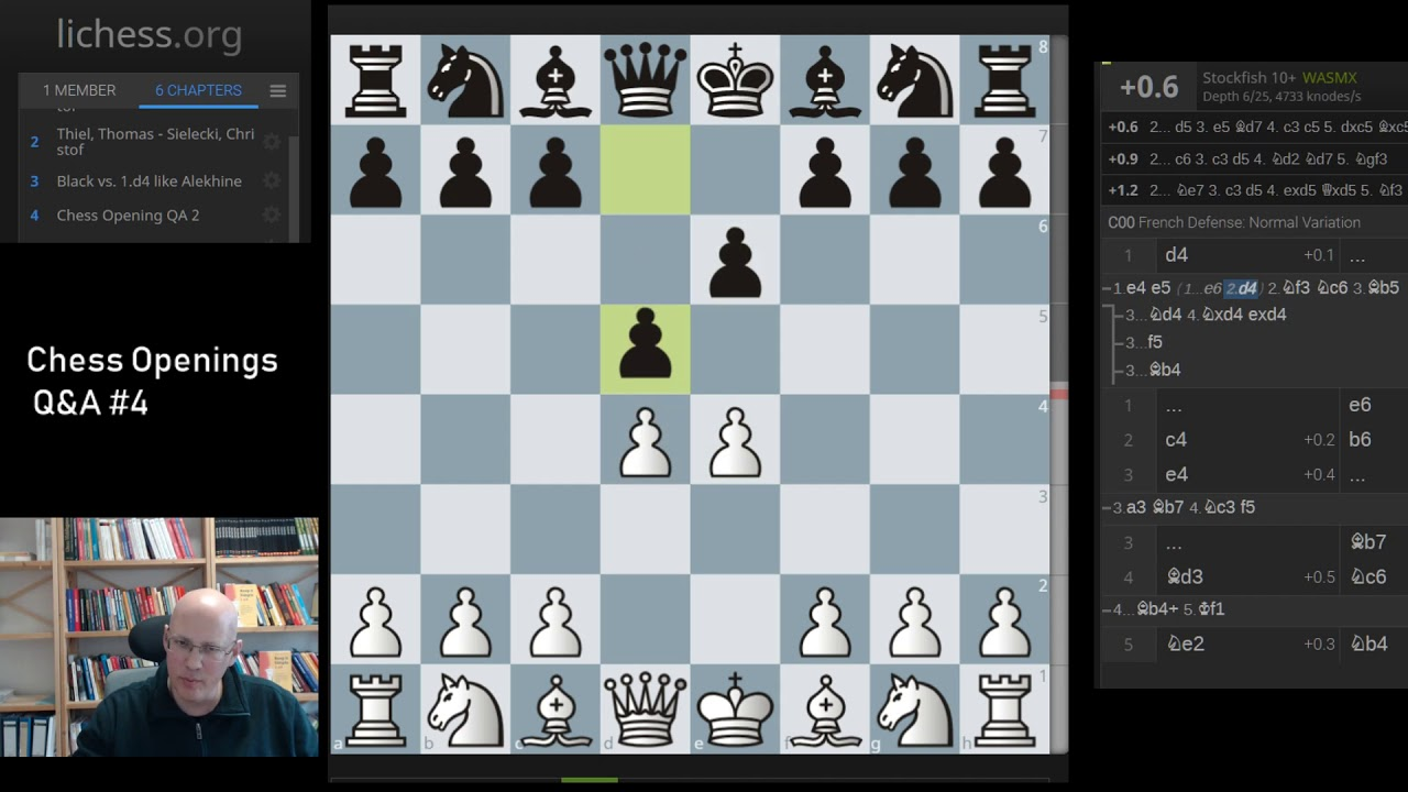 Chess Openings Q&A #4