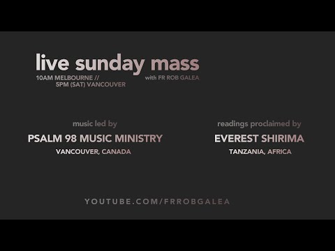 Live Mass on the Solemnity of Corpus Christi with Fr. Rob Galea 14/06/2020