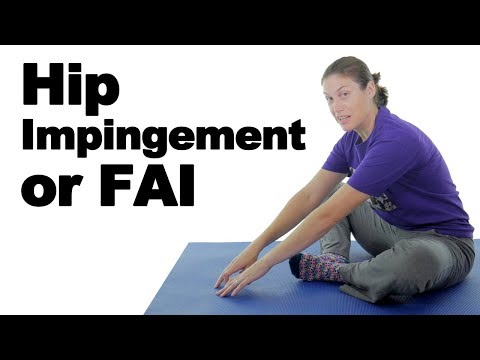 Hip Impingement (FAI) Pain Stretches & Exercises - Ask Doctor Jo