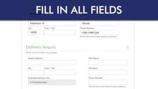 Order door to door courier services in 3 easy steps