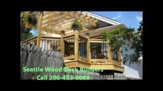 Deck Builder Seattle Wa|206-453-6088|cedar|trex|composite