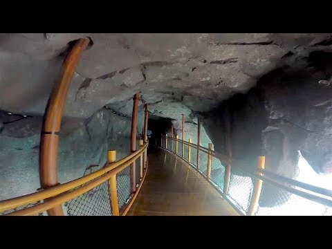 Inside Krakatau mountain at Volcano Bay water park, Universal Orlando