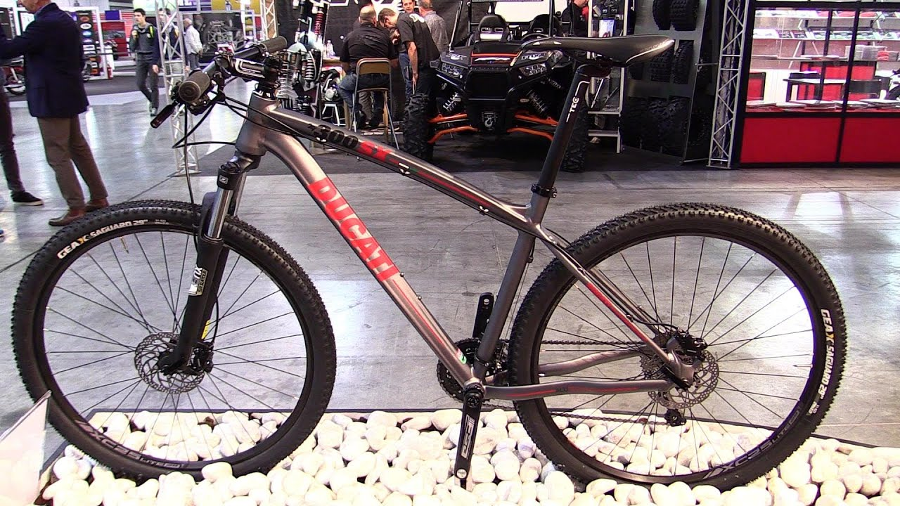 2015 Ducati 300 Sx Shimano Slx Deore 3x10 Mountain Bike