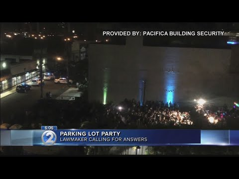 Lawmakers demand answers after party allowed to continue despite police presence