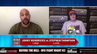 Before The Bell with Frank Trigg and Nick Kalikas - UFC Fight Night 82
