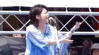 2014.7.26 新宿エイサーまつり オープニングセレモニー アルタ前にて 古...