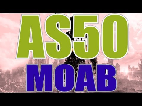MW3 | MOAB with Every Gun - AS50 MOAB