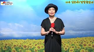 가수 김은아/ 정말좋았네 # 원곡 주현미 # 대한예술공…