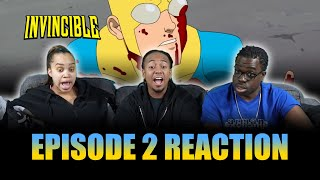 Alien Invasion! | Invincible Ep 2 Reaction