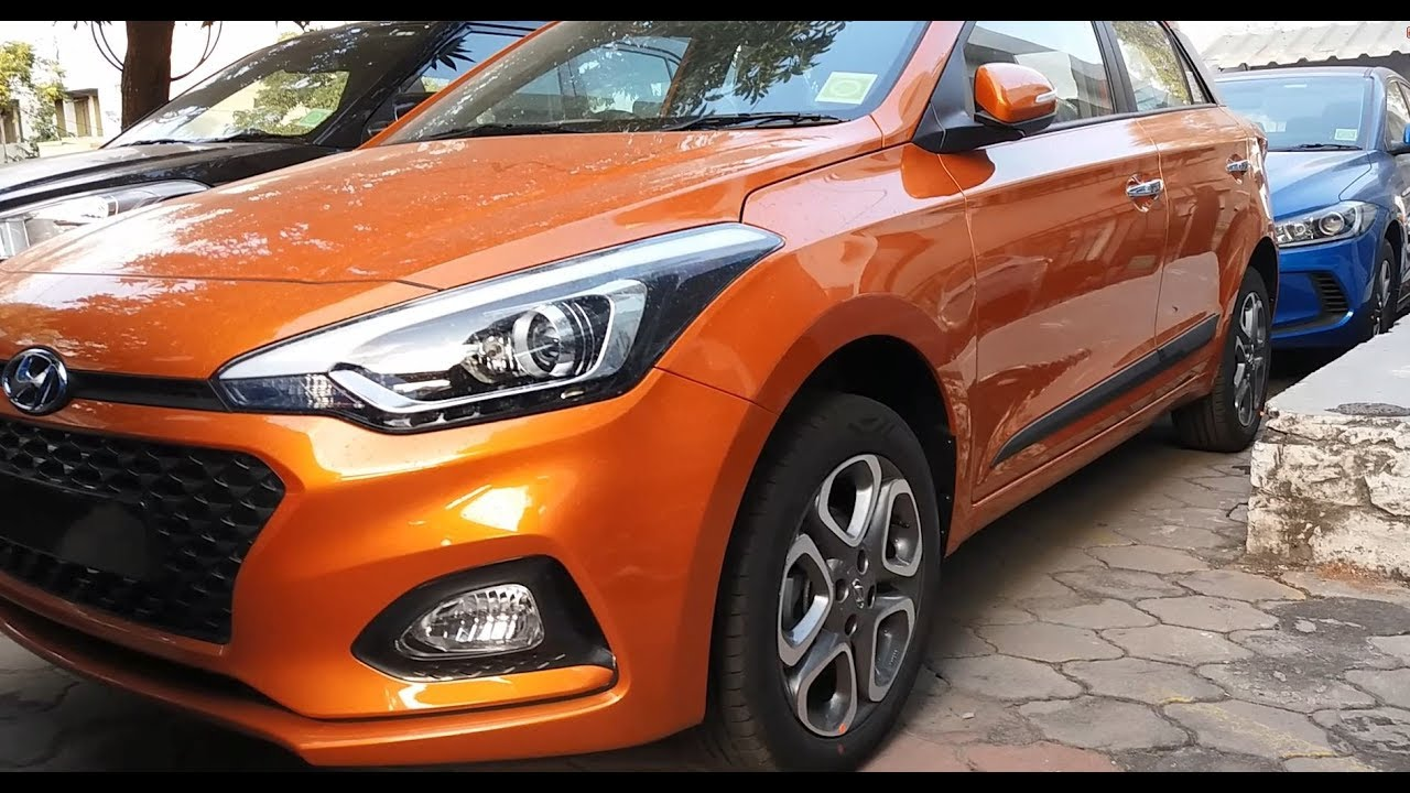 2018 Hyundai i20 All Colors|Orange,White,Silver,Red,Star ...