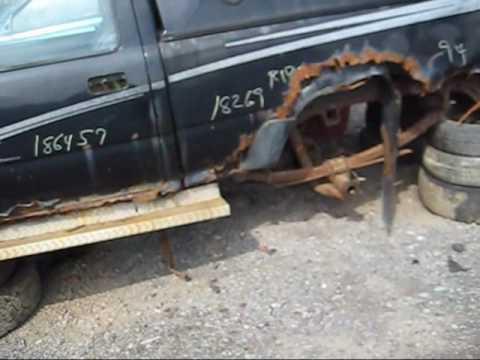 Toyota Tacoma With Bad Frame