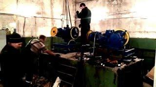 замена лебедки лифта(модернизация отслужившего срок лифтового оборудования., 2016-02-13T23:10:55.000Z)