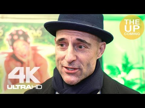 Mark Strong  on Shazam! and Deep State at Cirque du Soleil: Ovo premiere