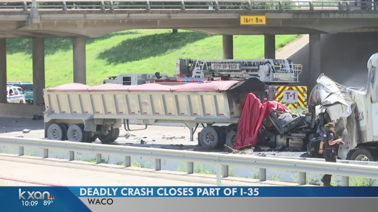 3 killed in I-35 crash in Waco