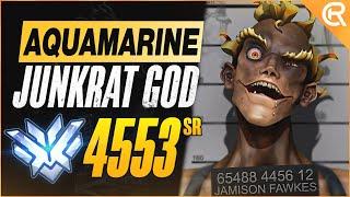 BEST OF AQUAMARINE - TΗE JUNKRAT GOD | Overwatch Aquamarine Junkrat Montage