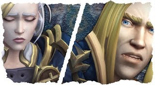 All Jaina Proudmoore Cinematics  - Battle for Azeroth! (Spoilers)