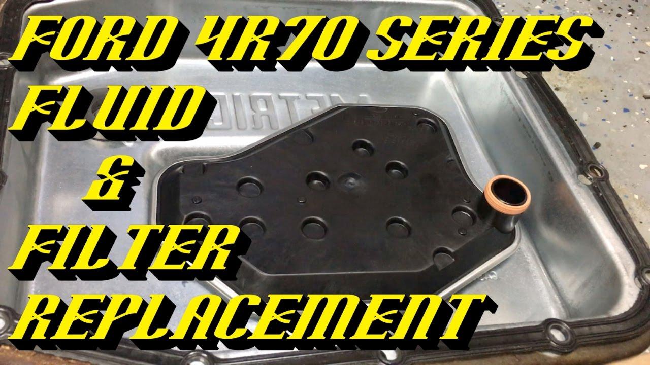Ford E350 Transmission Fluid Capacity