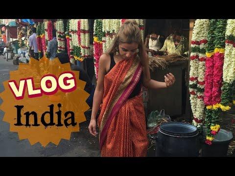 Une Vlogueuse en Sari ! Chennai, India ❀ Les vlogueuses en carton ! | Yas & Nab