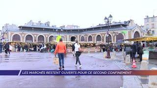 Yvelines | Les marchés restent ouvert pour ce second confinement