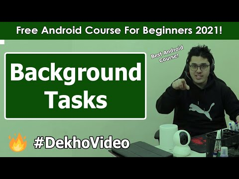 Performing Tasks in Background in Android | Android Tutorials in Hindi #16 thumbnail
