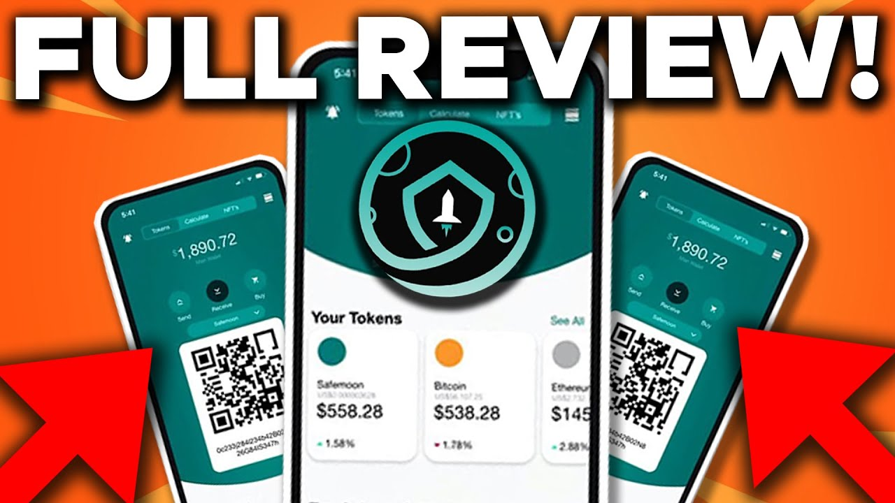 FIRST OFFICIAL LOOK At The Safemoon Wallet! All Info & FULL Review!
