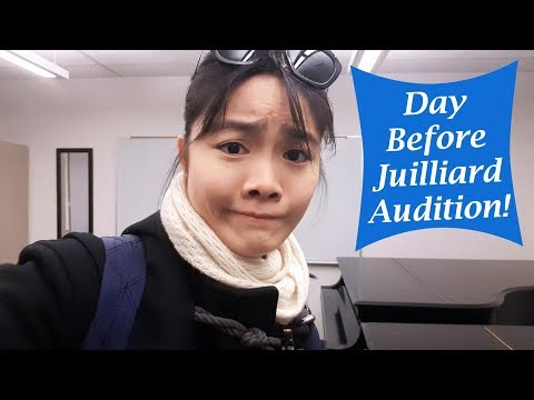 Day Before Juilliard Audition | Tiffany Vlogs #08
