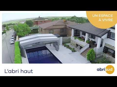 Abris de piscine hauts Abrisud, et la maison s'agrandit !
