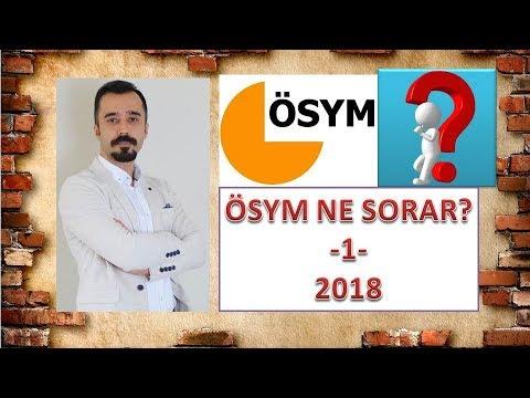 YKS EDEBİYAT SORU TAHMİNLERİ - 1 (2018)
