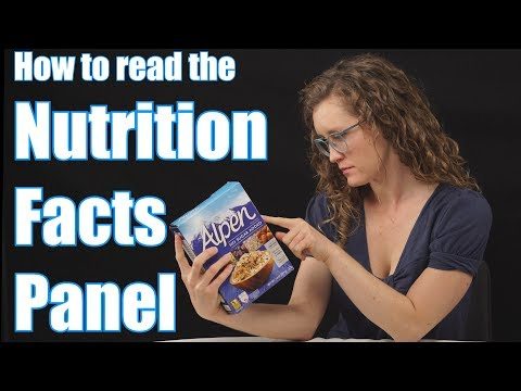 How To Read The Nutrition Facts Panel