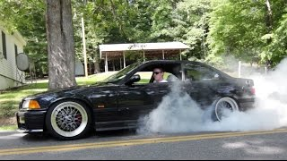 Supercharged E36 M3 Review!