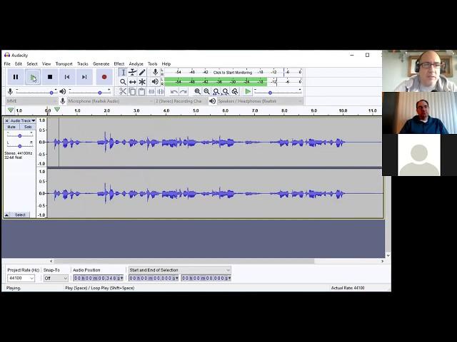 Basics of Audio Recording Editing with Audacity Webinar