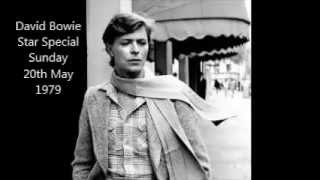 David Bowie Star Special